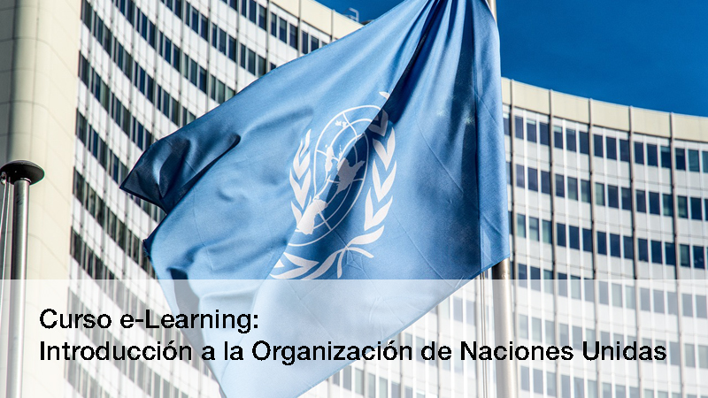 Curso e-Learning: ONU
